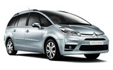 Citroen C4 Grand Picasso car rental at Barcelona, Spain