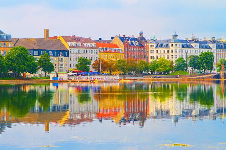 Car rental at Copenhagen, Denmark