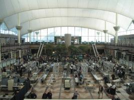 Car rental at Denver Airport, USA