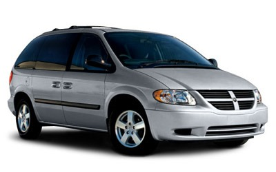 Dodge Caravan car rental at Los Angeles, USA