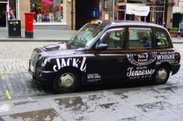 Car rental at Edinburgh, UK
