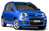 Fiat Panda car rental at Bologna, Italy
