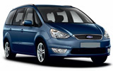 Ford Clubwagon car rental at Bordeaux Airport, France