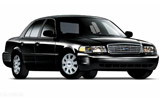 Chrysler Crown Victoria car rental at Boston, USA