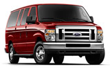 Ford Ecoline car rental at Los Angeles, USA
