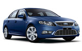 Ford Falcon car rental at Adelaide, Australia