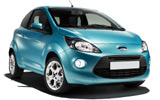 Ford Ka car rental at Bristol, UK