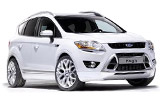 Ford Kuga car rental at Florence, Italy