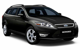 Ford Mondeo car rental at Dusseldorf, Germany