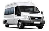Ford Transit car rental at Girona, Spain