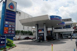 The nearest fuel stations to Bangkok - Suvarnabhumi Airport, Thailand