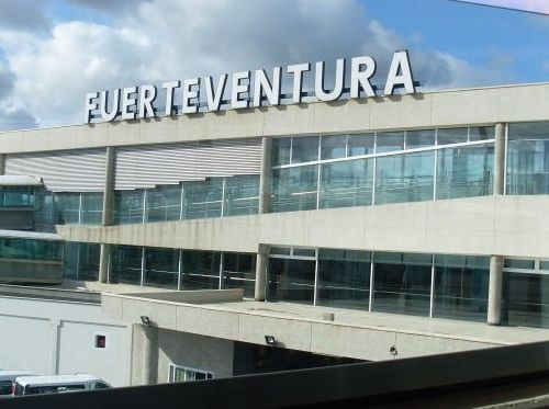 Car rental at Fuerteventura, Spain