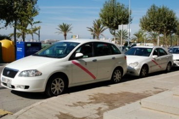 Car rental at Girona, Spain