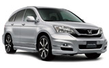 Honda CRV car rental at Belfast, UK