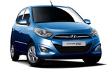Hyundai i10 car rental at Cork, Ireland