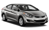 Hyundai i20 car rental at Brisbane, Australia