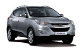 Hyundai Tucson car rental at Cork, Ireland