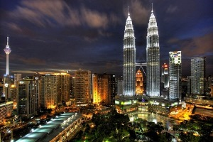 Car rental at Kuala Lumpur, Malaysia