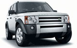 Land Rover Freelander car rental at Glasgow, UK