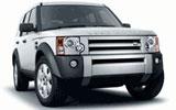 Land Rover Freelander car rental at Edinburgh, UK