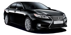 Lexus ES350 from Hertz, Abu Dhabi, UAE