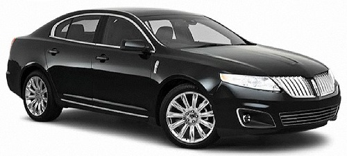 Lincoln MKS from Budget, Los Angeles