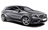 Mercedes A Class car rental at Dusseldorf, Germany