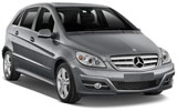Mercedes B Class car rental at Florence, Italy