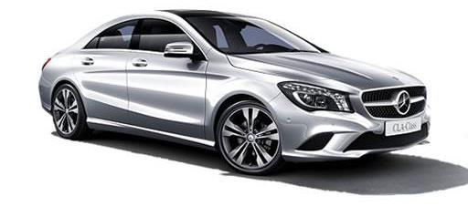 Mercedes CLA Class from 24 Hour, Los Angeles