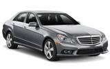 Mercedes E Class car rental at Belfast, UK