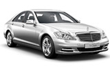 Mercedes S Class car rental at Dusseldorf, Germany