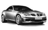 Mercedes SLK 350 car rental at Bristol, UK