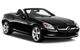 Mercedes SLK Convertible car rental at Alicante, Spain