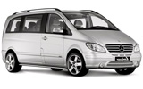 Mercedes Viano 8 seater car rental at Bristol, UK