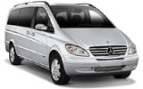 Mercedes Vito Traveliner car rental at Funchal, Portugal