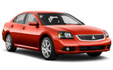 Mitsubishi Galant car rental at Boston, USA