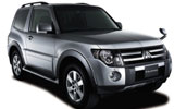 Mitsubishi Pajero car rental at Brisbane, Australia