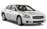 Nissan Maxima car rental at Los Angeles, USA