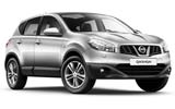 Nissan Qashqai car rental at Cape town Airport, South Africa