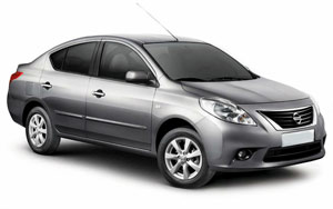 Nissan Sunny from Autorent, Abu Dhabi, UAE