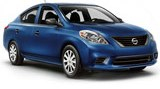 Nissan Versa car rental at Los Angeles, USA