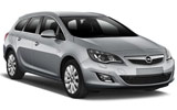 Opel Astra car rental at Bari, Italy