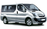 Opel Vivaro 9 Seater car rental at Bergamo, Italy
