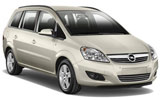 Opel Zafira car rental at Barcelona, Spain