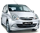 Perodua Viva car rental at Langkawi, Malaysia
