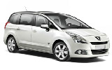 Peugeot 5008 7 Seater car rental at Bari, Italy