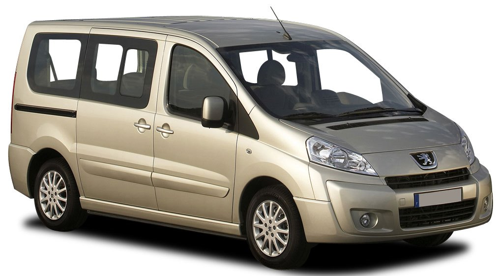 Peugeot Expert 9 Seater car rental at Bergamo, Italy