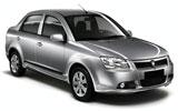 Proton Saga car rental at Langkawi, Malaysia