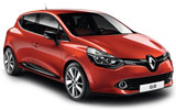 Renault Clio car rental at Bristol, UK