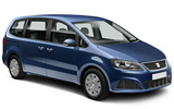 Seat Alhambra car rental at Belfast, UK